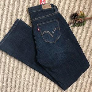 Levi's jeans 529 curvy bootcut